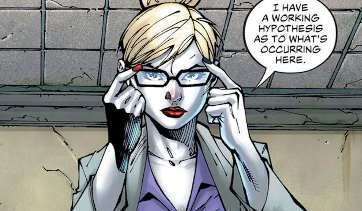 Harley Quinn as a Psychiatrist in the comics