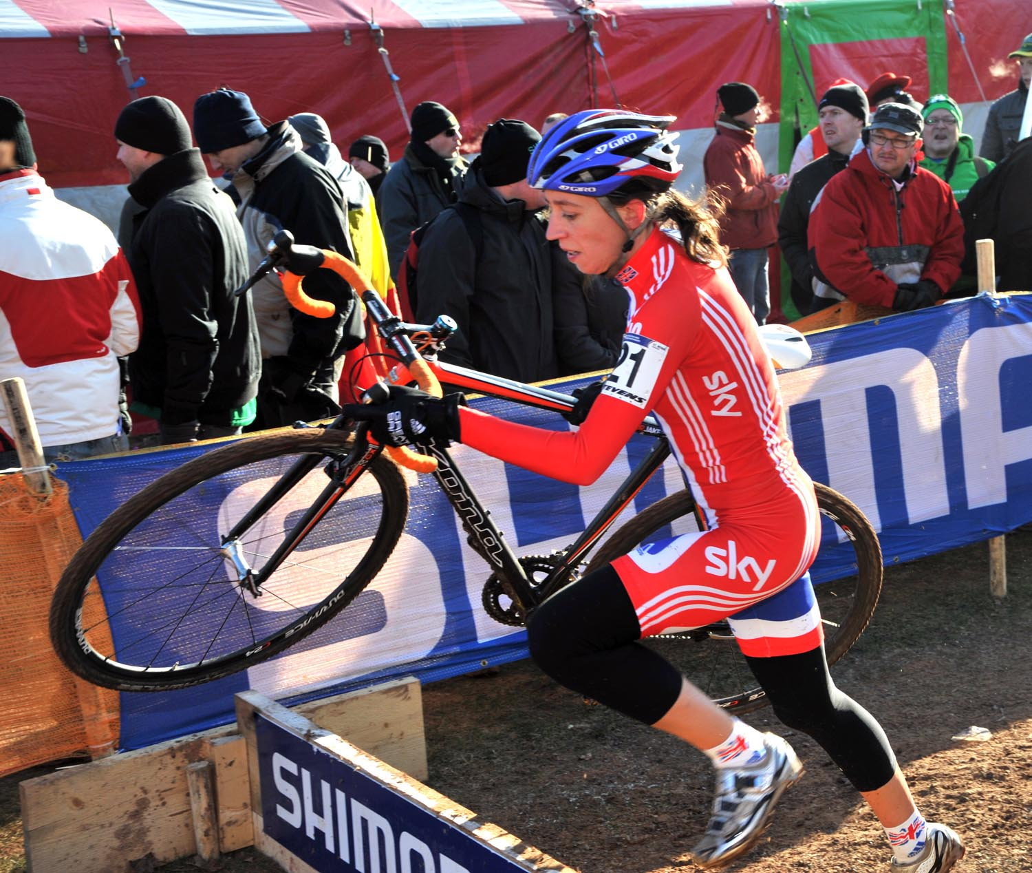 Helen Wyman, elite women, Cyclo-cross World Championships 2011