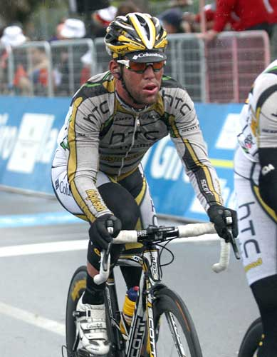Mark Cavendish, Tirreno-Adriatico 2010, stage one