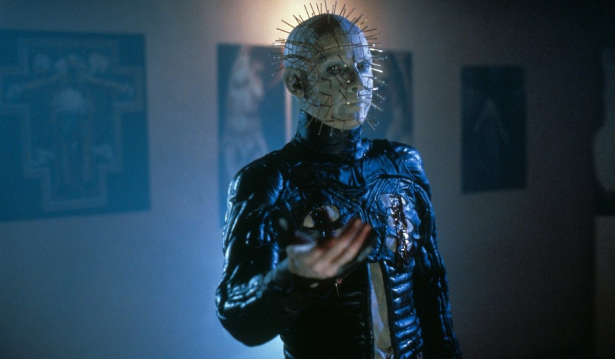 Hellraiser III: Hell On Earth Pinhead offers his hand in the art gallery