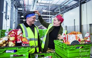After being amazed by cereal Gregg Wallace and Cherry Healey return for a festive special