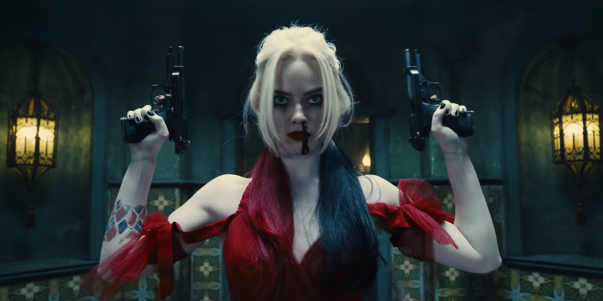 Harley in The Suicide Squad