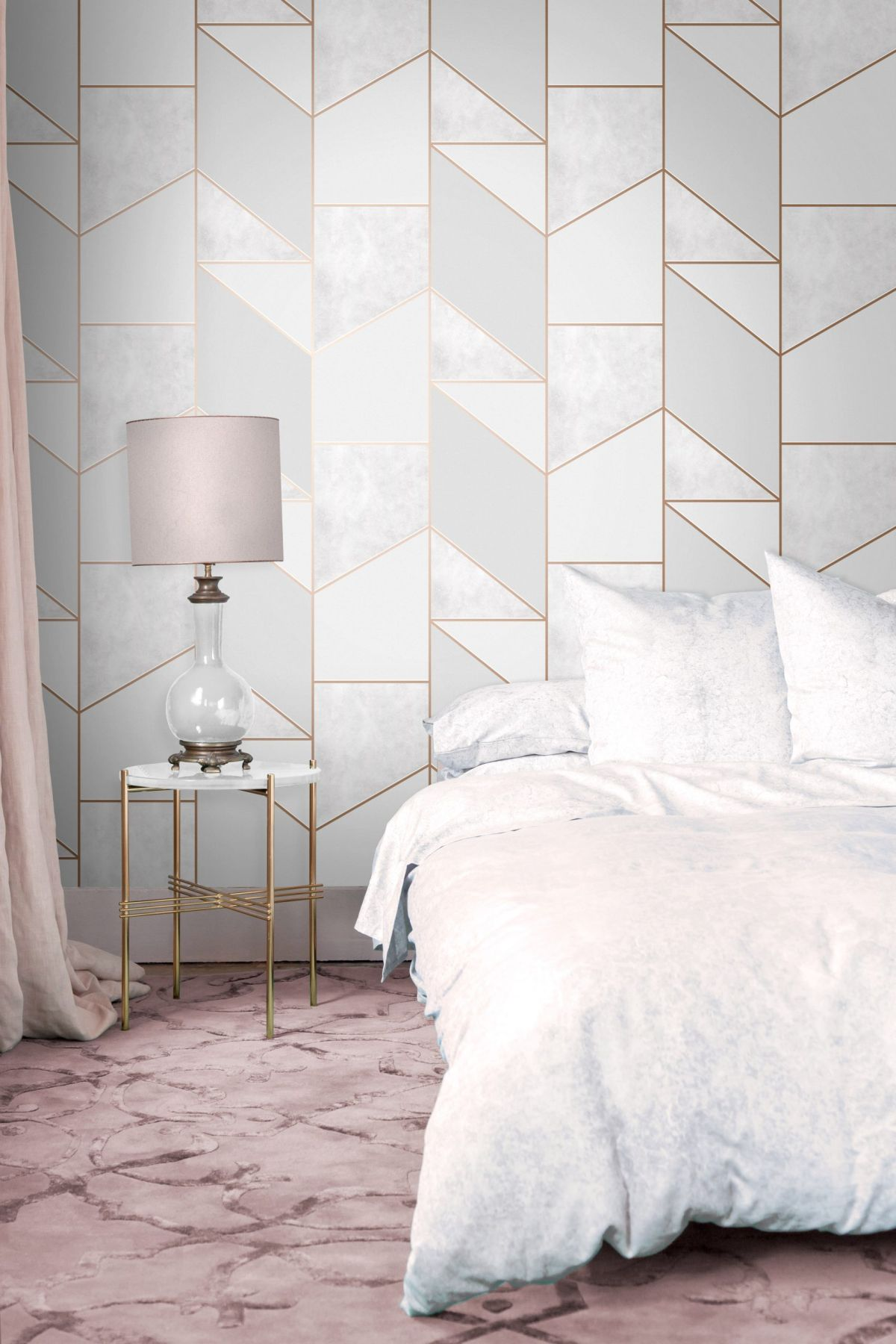 Grey bedroom wallpaper – 12 styles and ideas to inspire