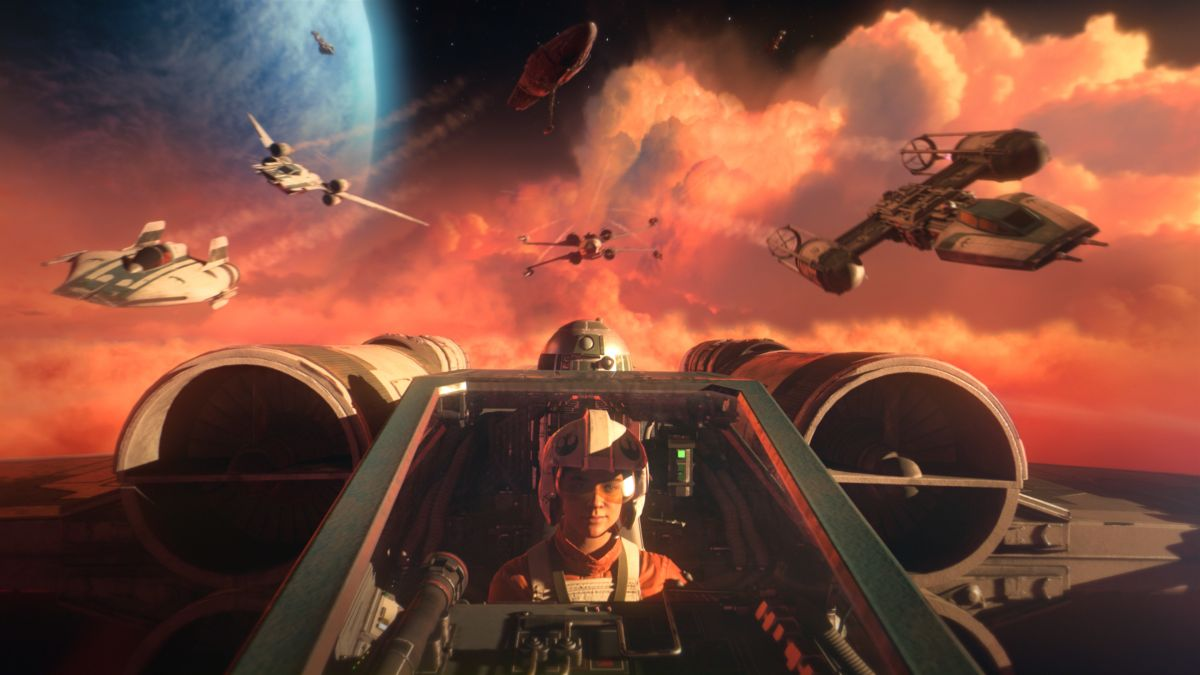 Star Wars Squadrons will be an exclusively first-person game