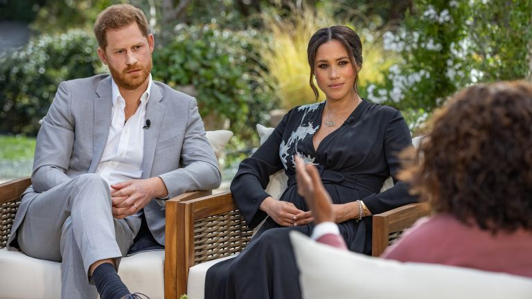 Prince Harry Meghan Markle Oprah interview