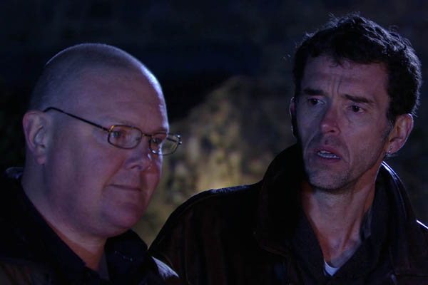 Next week, Emmerdale's fireworks party sparks a meeting between former friends Paddy and Marlon, and Paddy confides that he's scared of losing his job