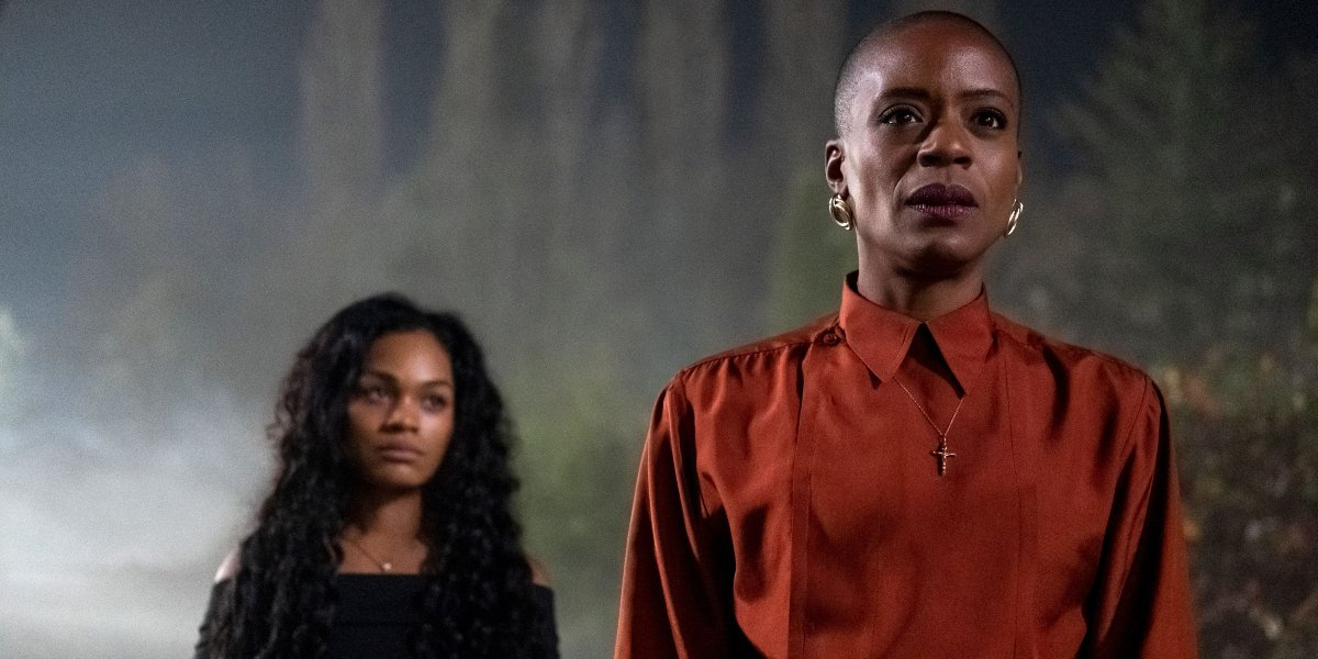 Tahirah Sharif and T'Nia Miller in The Haunting of Bly Manor