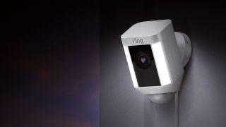 best IP camera: Ring Spotlight Cam
