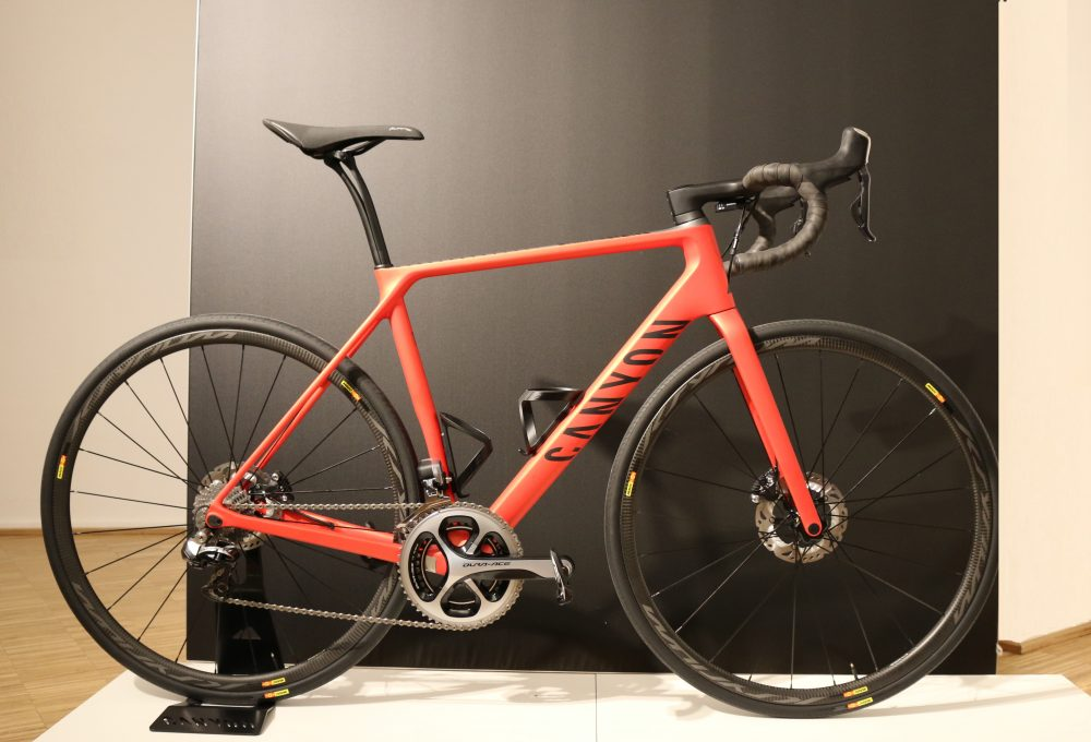First ride: The new Canyon Endurace CF SLX (video ...