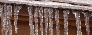 icicles, water purity
