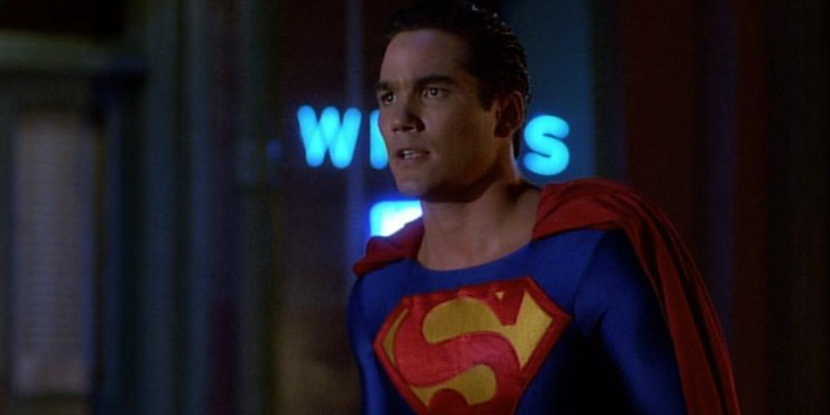 Dean Cain on Lois & Clark: The New Adventures of Superman