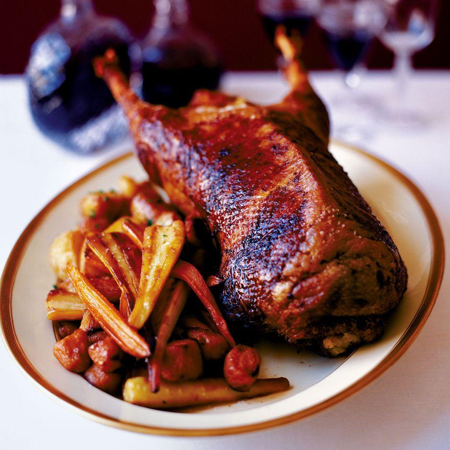 Christmas Lunch: Simon Hopkinson's Goose Recipe