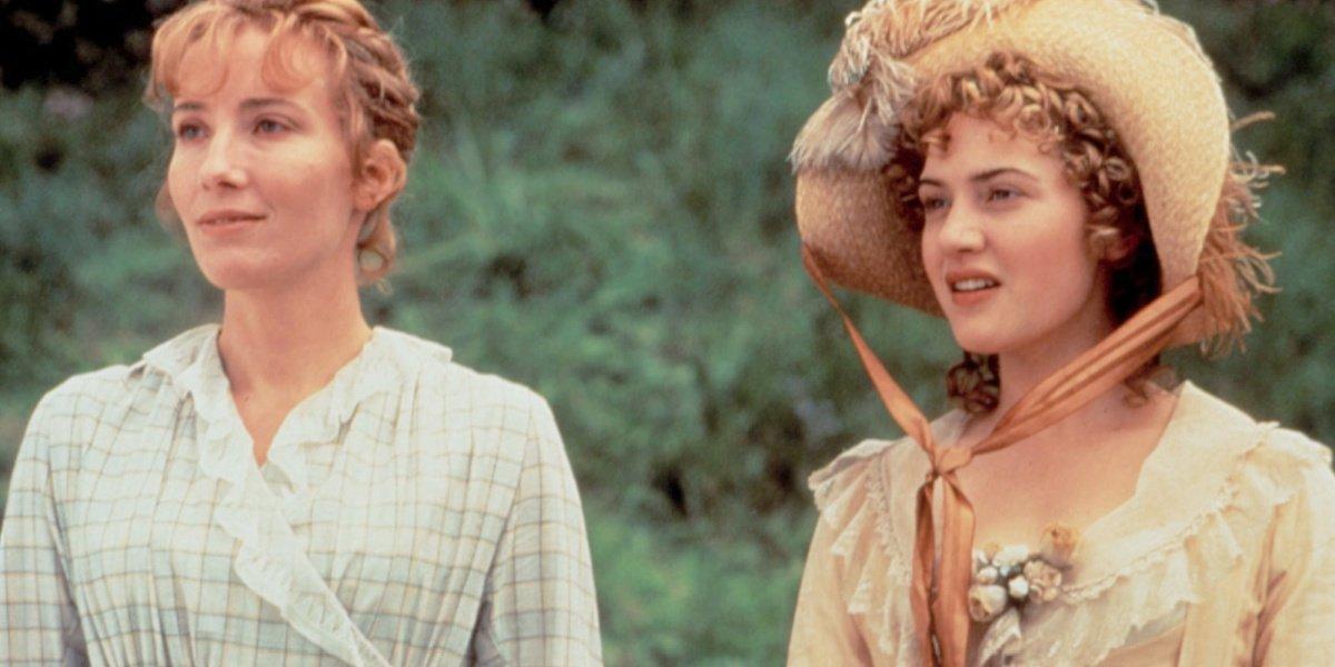 Kate Winslet alongside Emma Thompson in Sense and Sensibility.