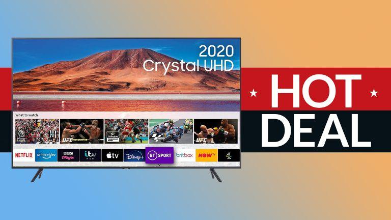 4K TV deal Samsung