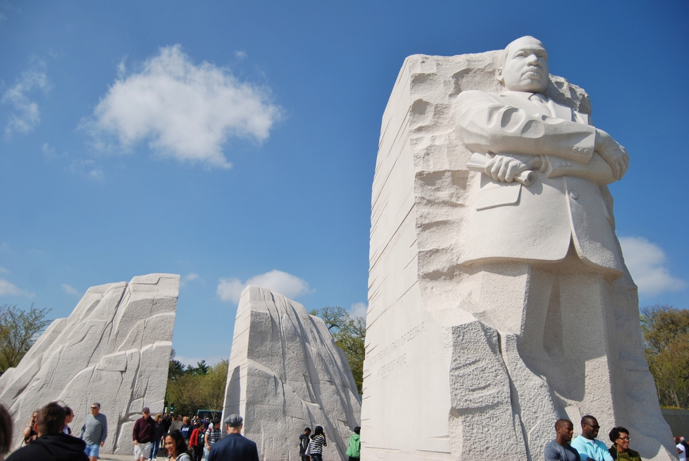 Photo of the Martin Luther King Jr. Memorial on the National Mall in Washington, D.C.