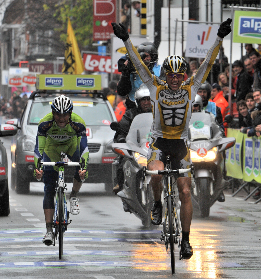 Boasson Hagen wins 2009 Ghent-Wevelgem Columbia Highroad