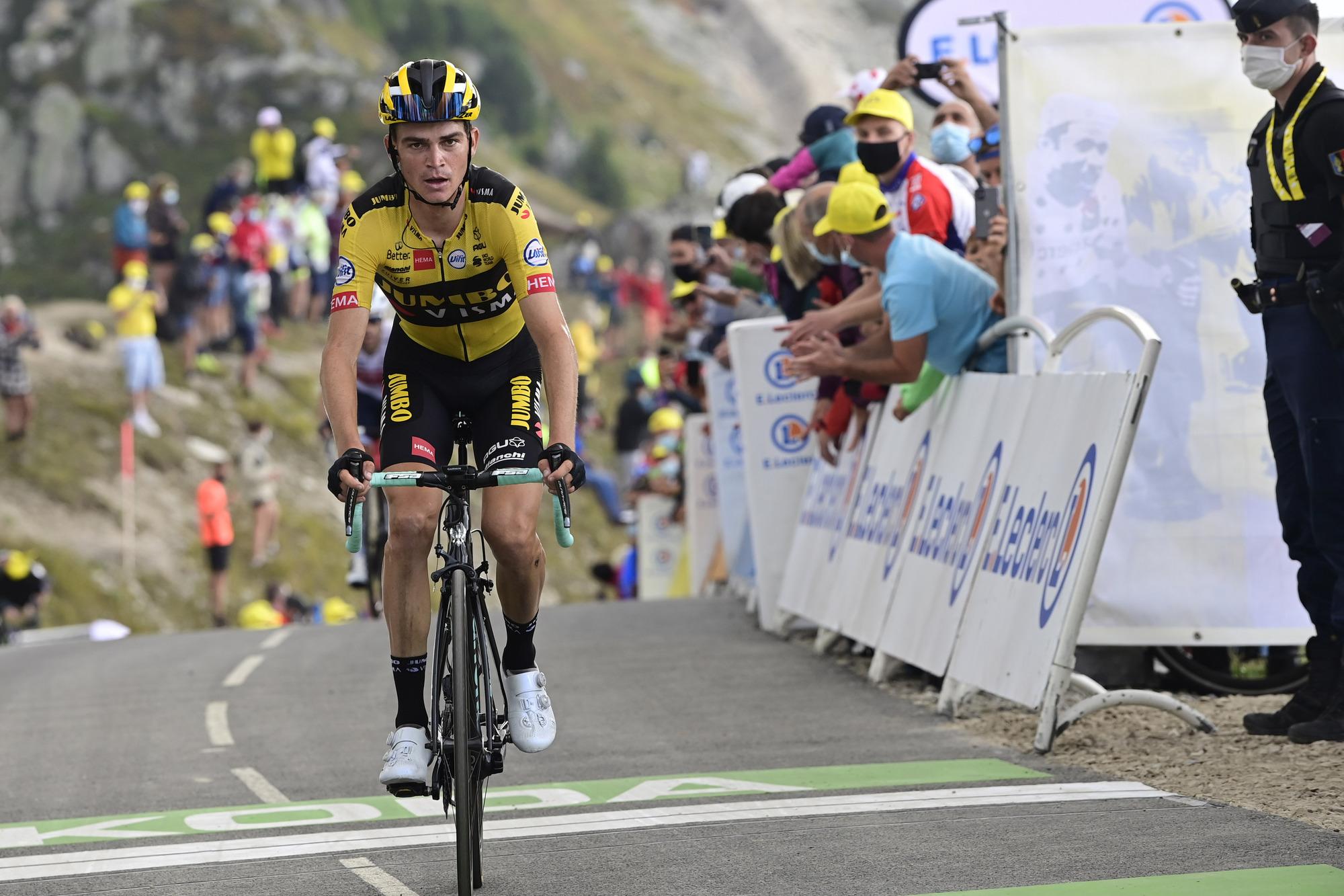 Tour de France 2020 - 107th Edition - 16th stage Grenoble - Meribel - Col de la Loze 170 km - 16/09/2020 - Sepp Kuss (USA - Team Jumbo - Visma) - photo POOL/BettiniPhoto©2020