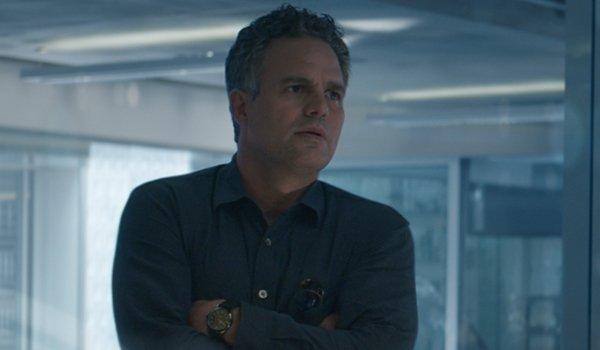 Bruce Banner in avengers Endgame