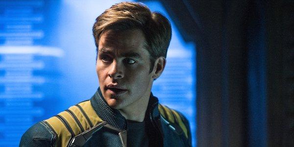 Chris Pine as James Kirk in Star Trek Beyond