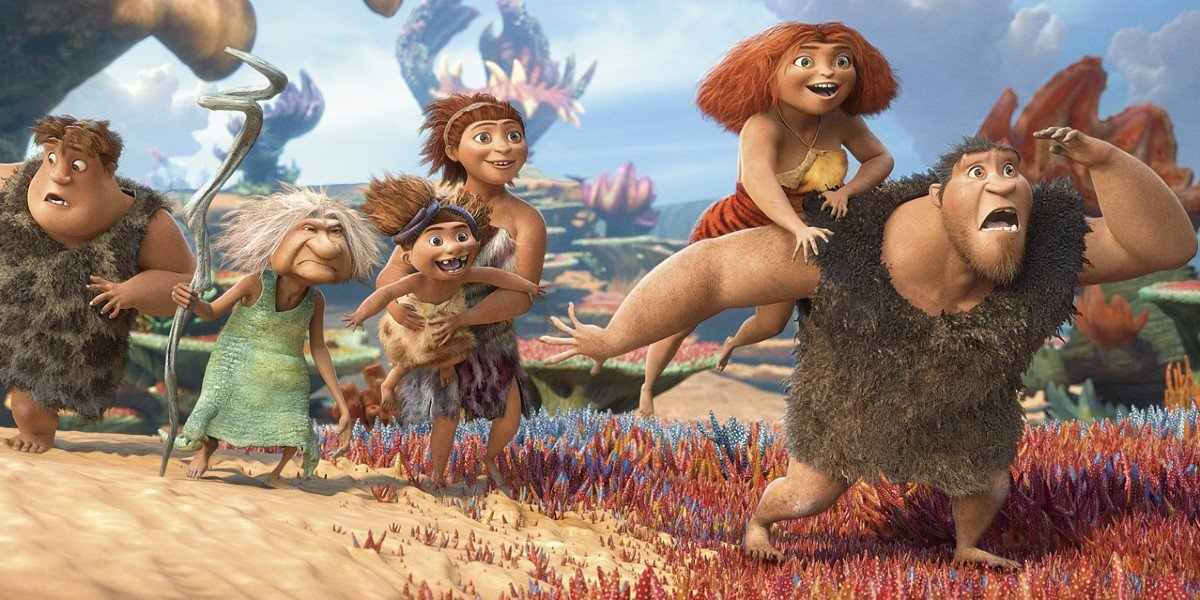 DreamWorks Animation's The Croods, featuring the voice of Nicolas Cage