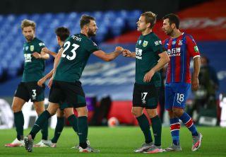 Crystal Palace v Burnley – Premier League – Selhurst Park