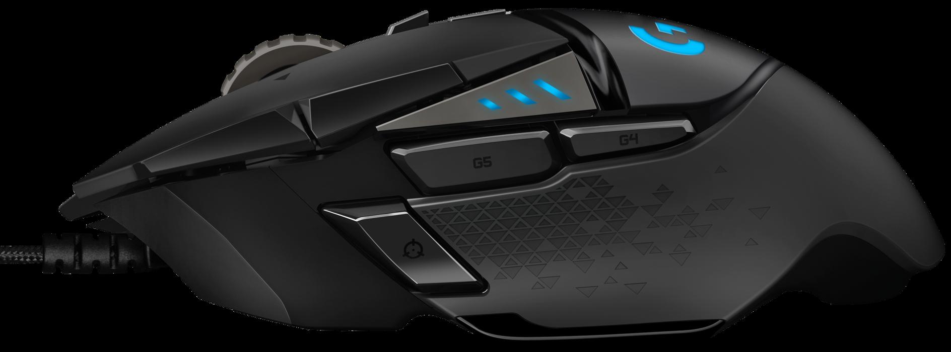 Logitech G502 Hero Review Pc Gamer