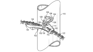 Ford's patent for bicycle derailleur apparatus for controlling bicycle speed