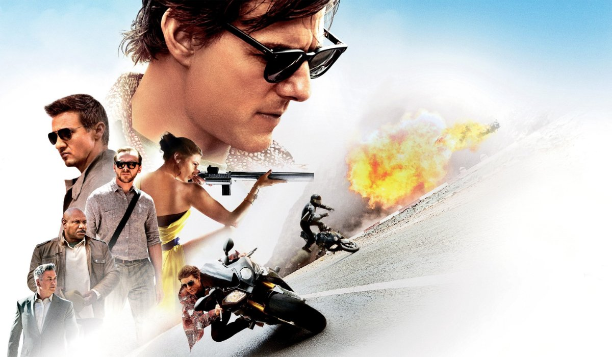 Mission: Impossible Rogue Nation a collage of action