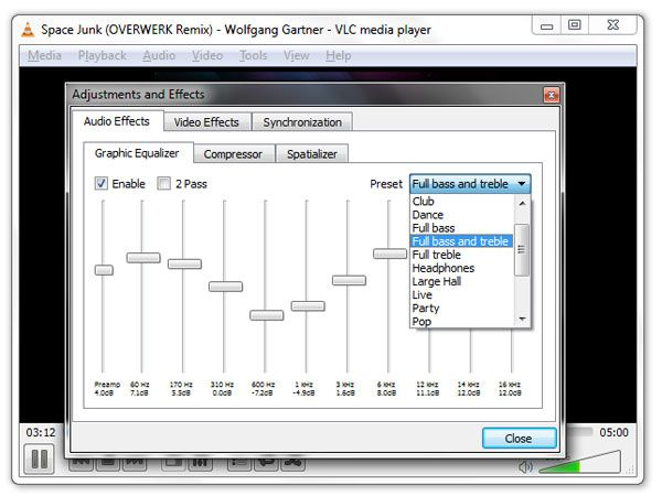 Vlc Media Player Equalizer