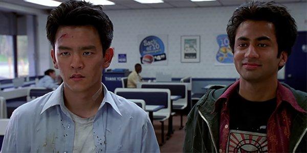 John Cho and Kal Penn in Harold & Kumar Go to White Castle
