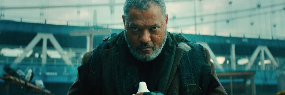 Laurence Fishburne as The Bowery King in John Wick 3