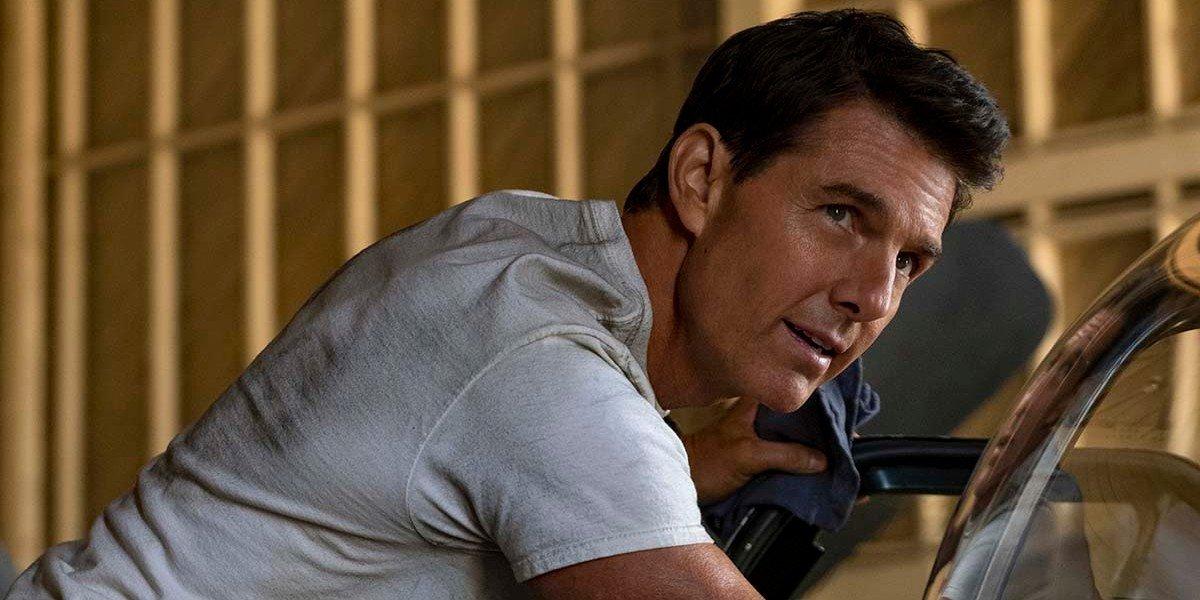 "Tom Cruise as Pete ""Maverick"" Mitchell in Top Gun: Maverick (2020)"
