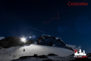 The big W of Cassiopeia