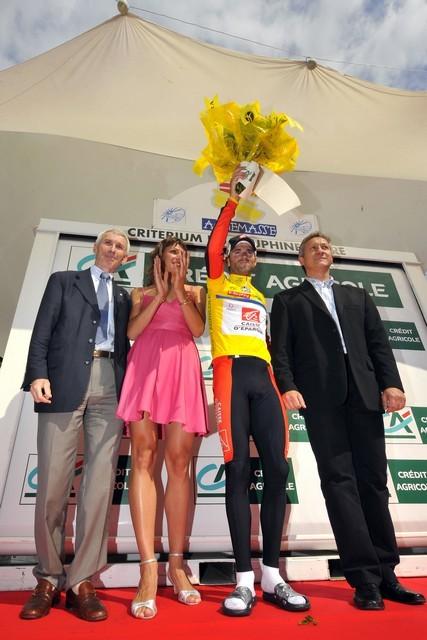 Alejandro Valverde Dauphine 2008 stage 4