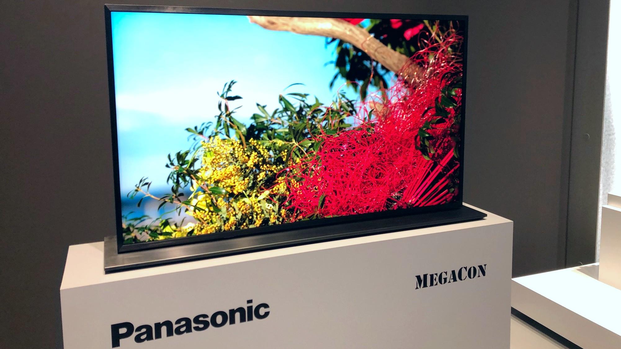 First look: Panasonic MegaCon 4K Dual Panel LCD TV | TechRadar