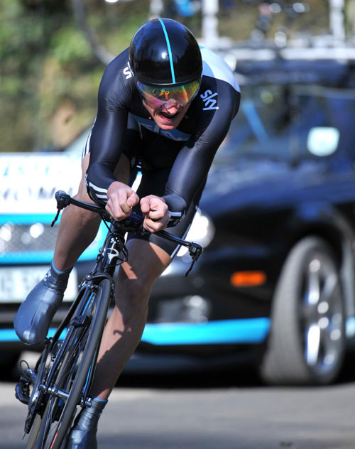 Geraint Thomas, Paris-Nice 2010, stage 1 prologue