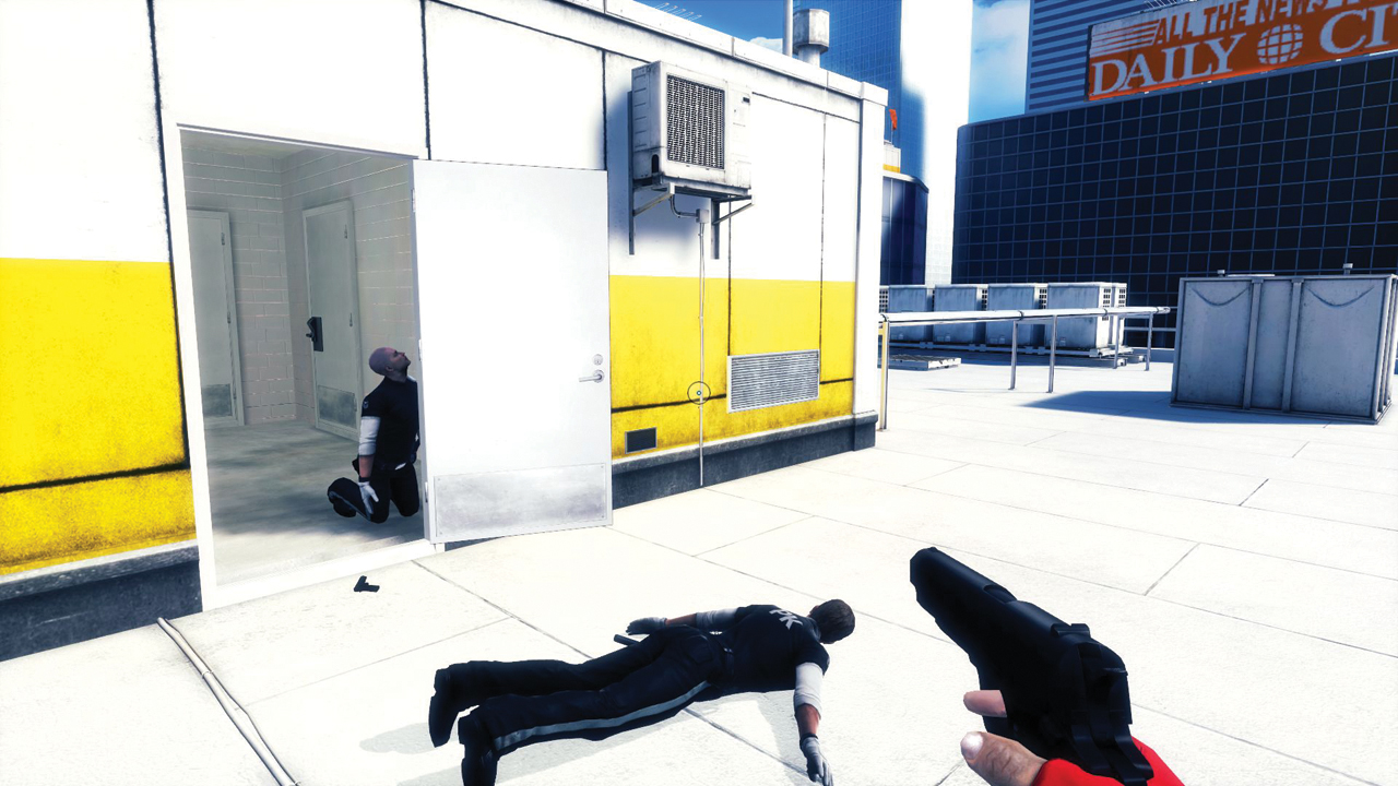 Picking every fight in Mirror's Edge, part 1 | PC Gamer