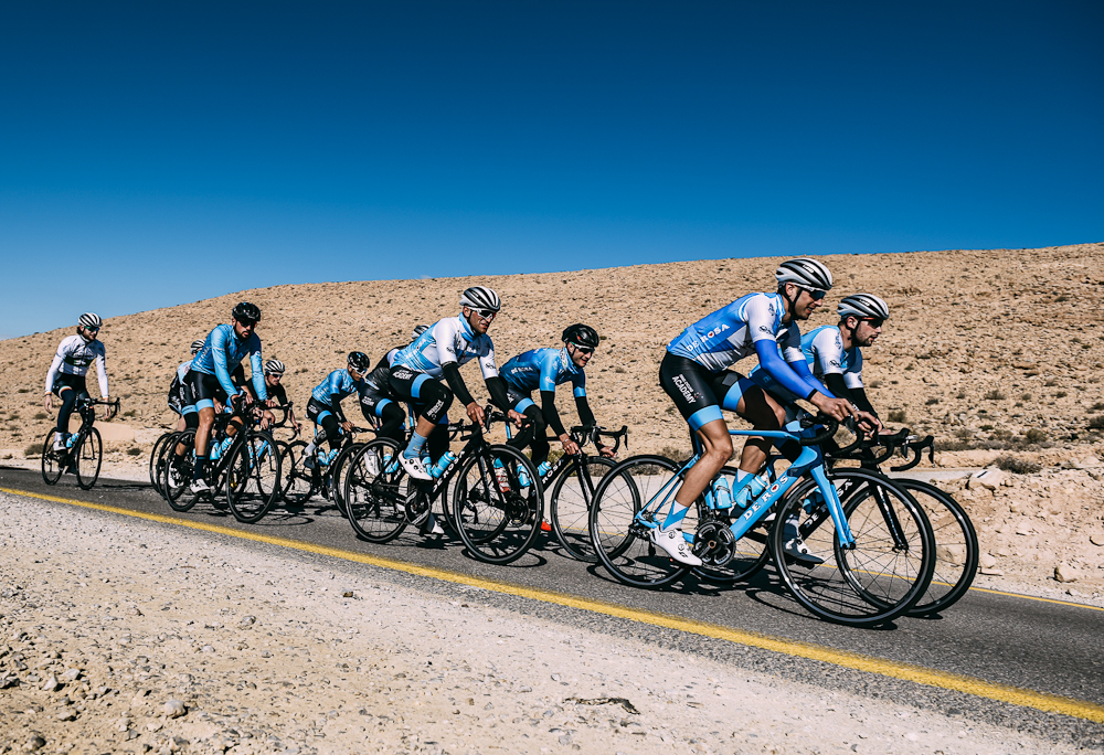 Israel Cycling Academy complete desert training camp
