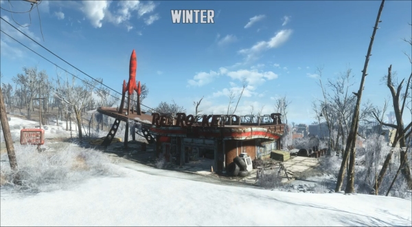 fallout 4 seasons mod how to change seasons