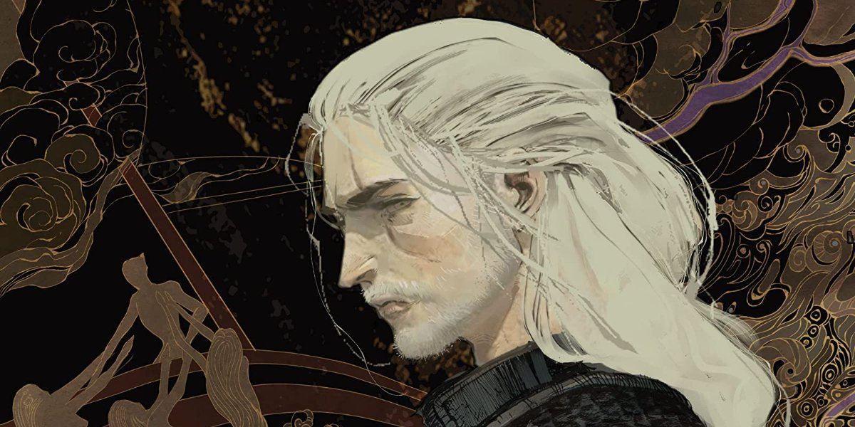 Geralt on The Witcher - Volume 5: Fading Memories cover