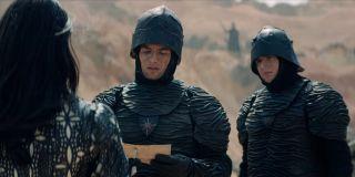 Nilfgaardians in their wrinkly armor