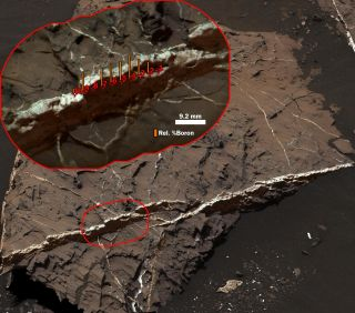 Mars Rover Curiosity Finds Boron on Red Planet