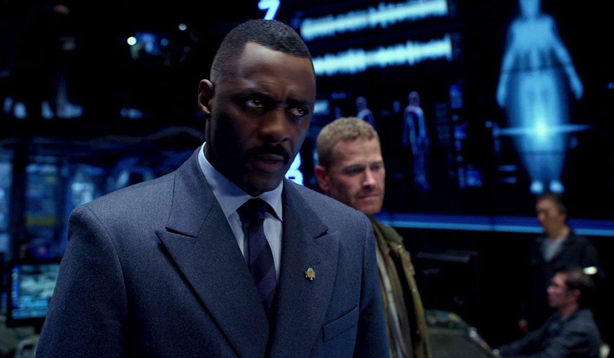 Pacific Rim Idris Elba in uniform
