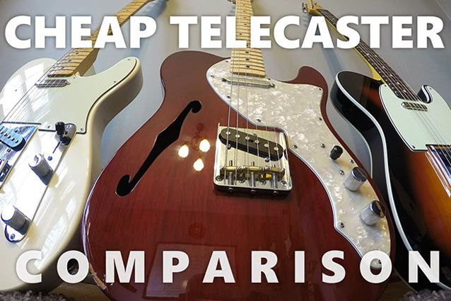 The Cheap Telecaster Shoot-Out: Three Budget Teles Under $450