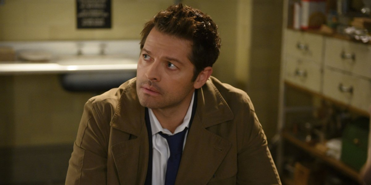 the cw supernatural season 14 castiel misha collins bunker