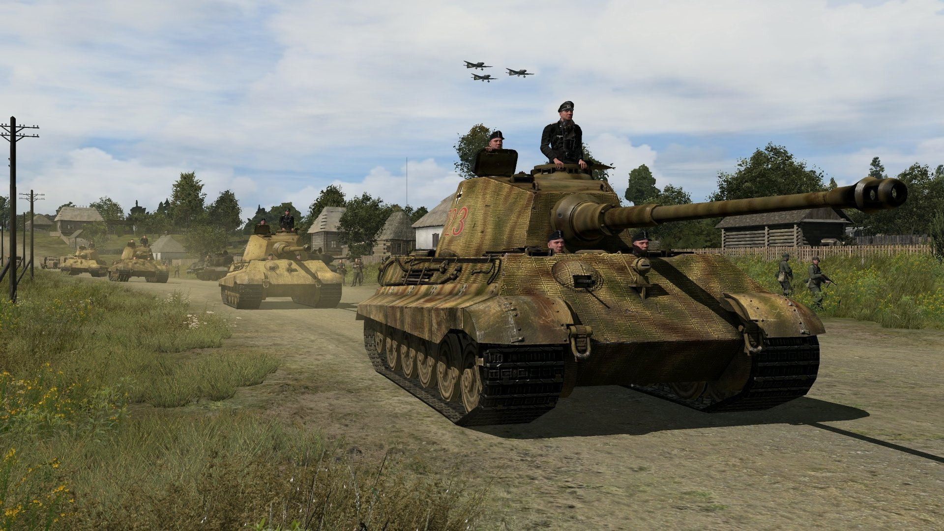 Iron Front Liberation 1944 Vehicles And Soldier Screenshots  #20058