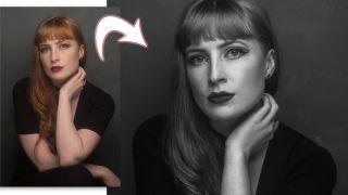 Lightroom tutorial low key portrait retouching
