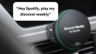 Spotify car speaker