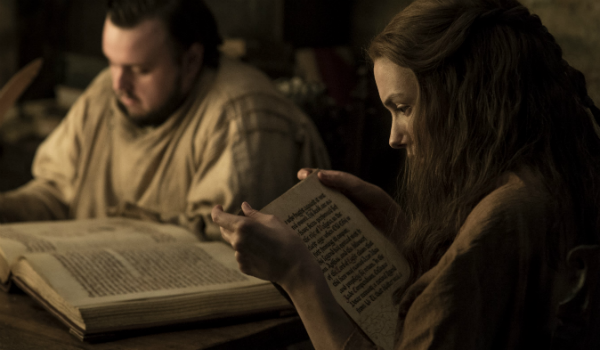 Game of Thrones John Bradley Samwell Tarly Hannah Murray Gilly HBO