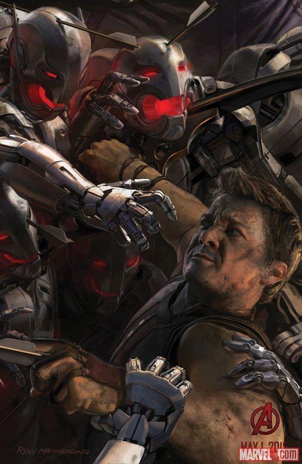 Avengers Hawkeye Concept Art